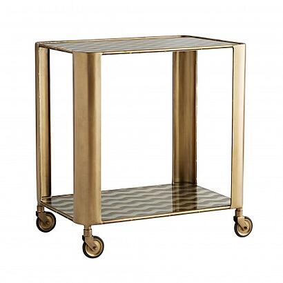 Arteriors Tinsley Bar Cart