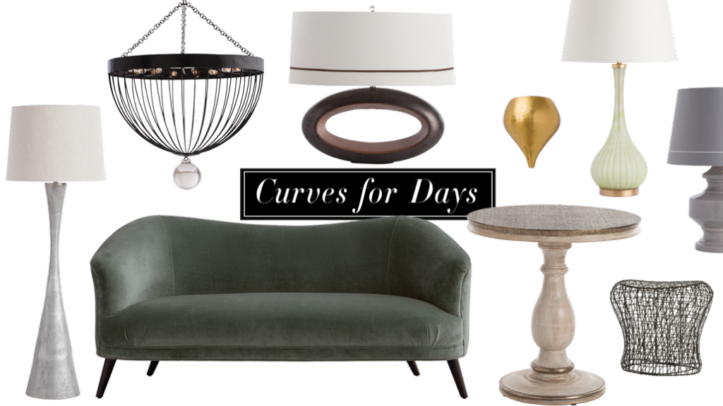 Click here to learn more aboutCurves for Days from Arteriors Creative Director