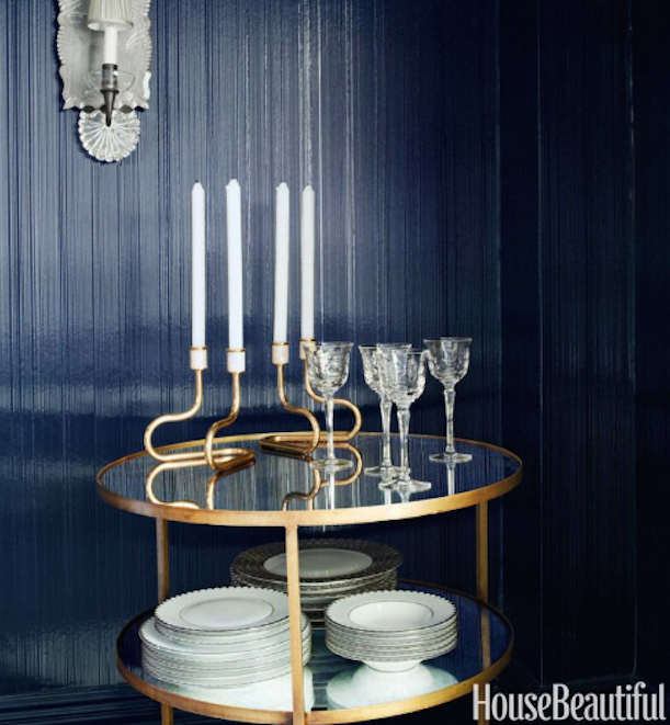Our Percy End Table made an appearance in House Beautiful Magazine
