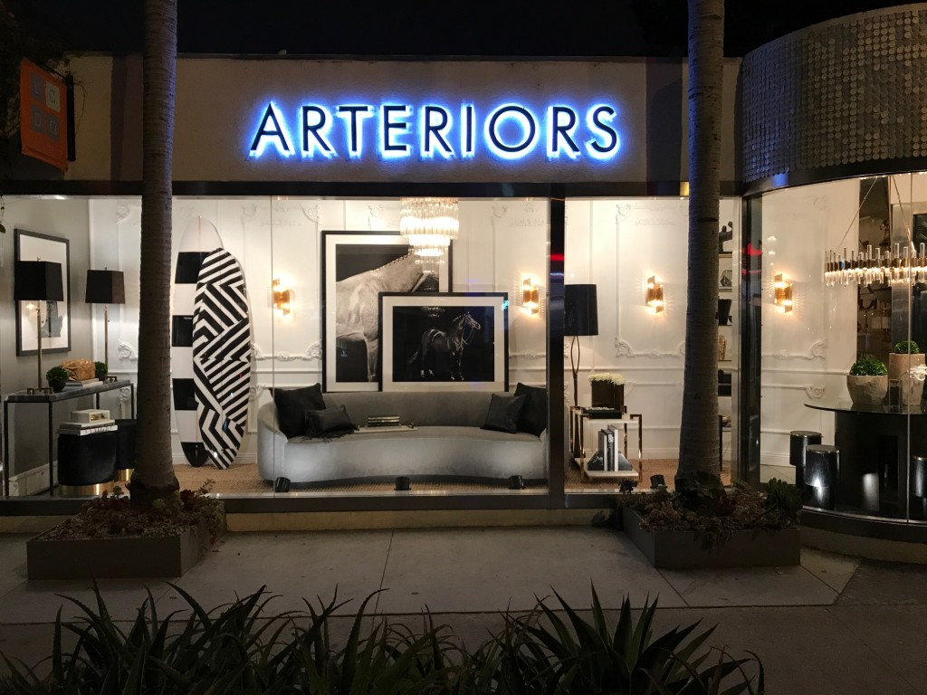 Arteriors windows by Jeff Trotter at Legends 2017